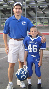 Brad's first RoadRunner game - September 11, 2004