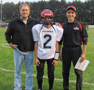 Brad's freshman season 2010