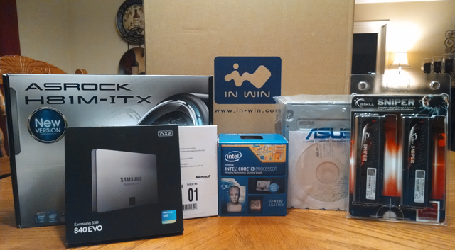 Parts for my 2nd mini-ITX