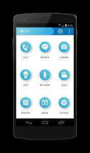 Pressy App Functions