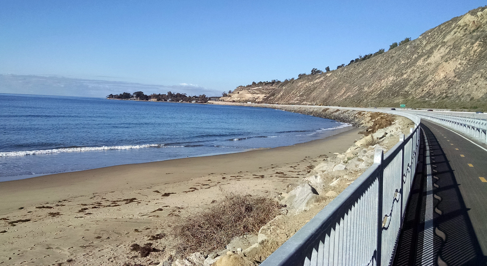 Pacific Coast Bike Route Ventura To Carpinteria