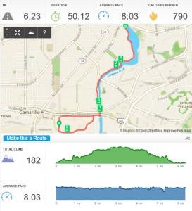 YMCA 10K Race Course