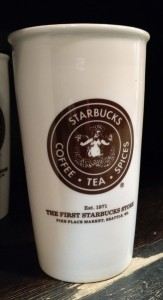 The First Starbucks Store Cup