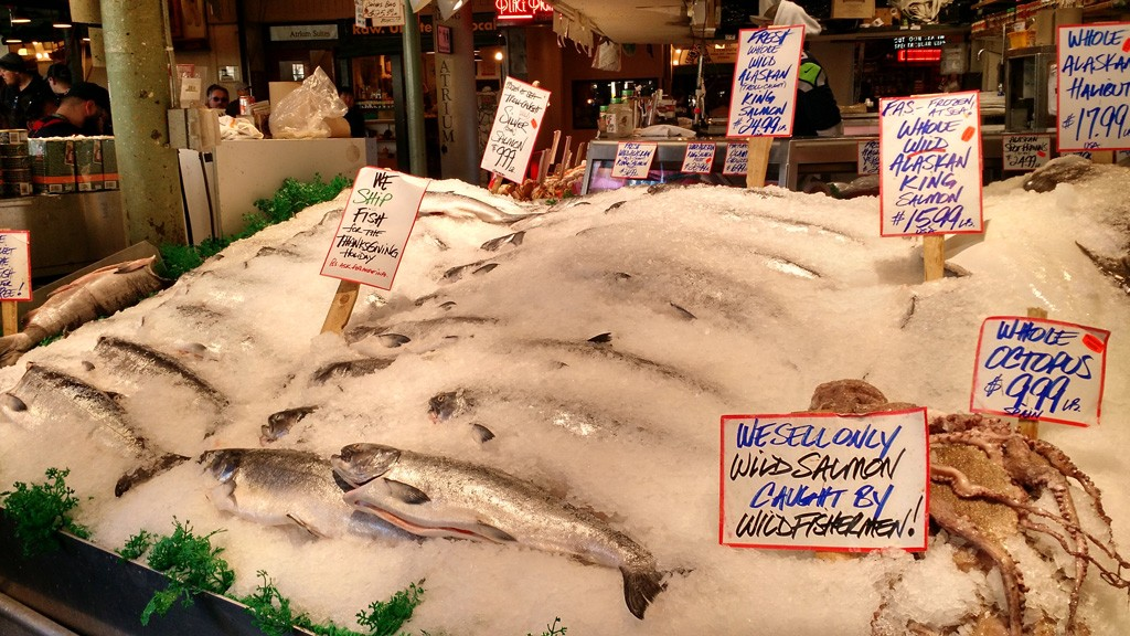 Pike Place Fish Market - Seattle