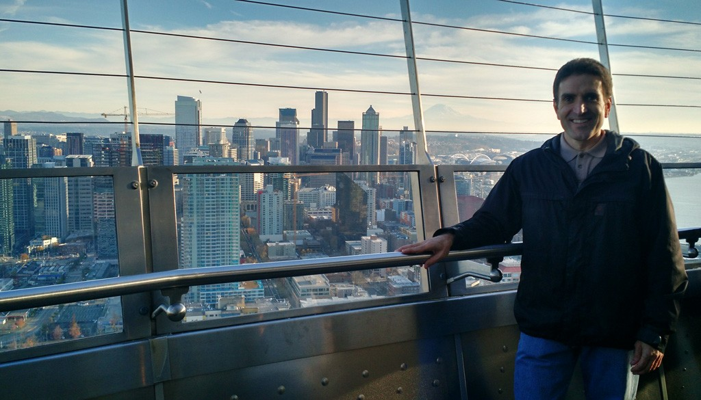 Top of the Space Needle - Seattle