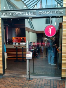 Storyville Coffee - First and Pike, Seattle, WA