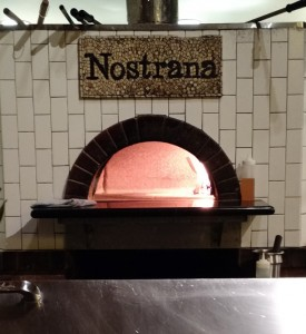 The pizza oven at Nostrana - Portland, OR