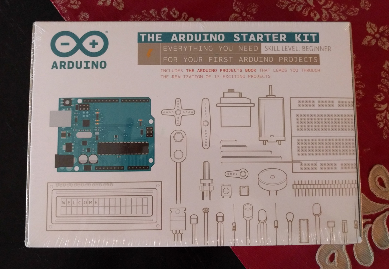 The arduino starter kit gregg borodaty