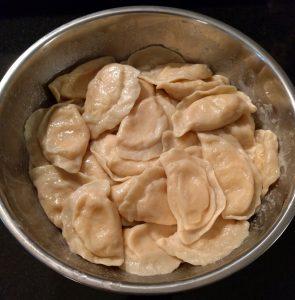 Freshly Cooked Pierogi