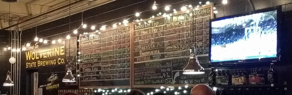 Wolverine State Brewing Company - Ann Arbor, MI