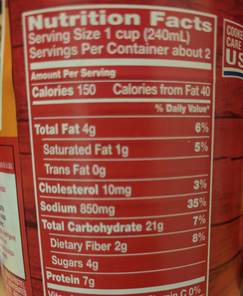 What I Learned From Reading Food Labels