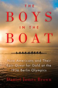 Book cover - Boys in the Boat by Daniel James Brown