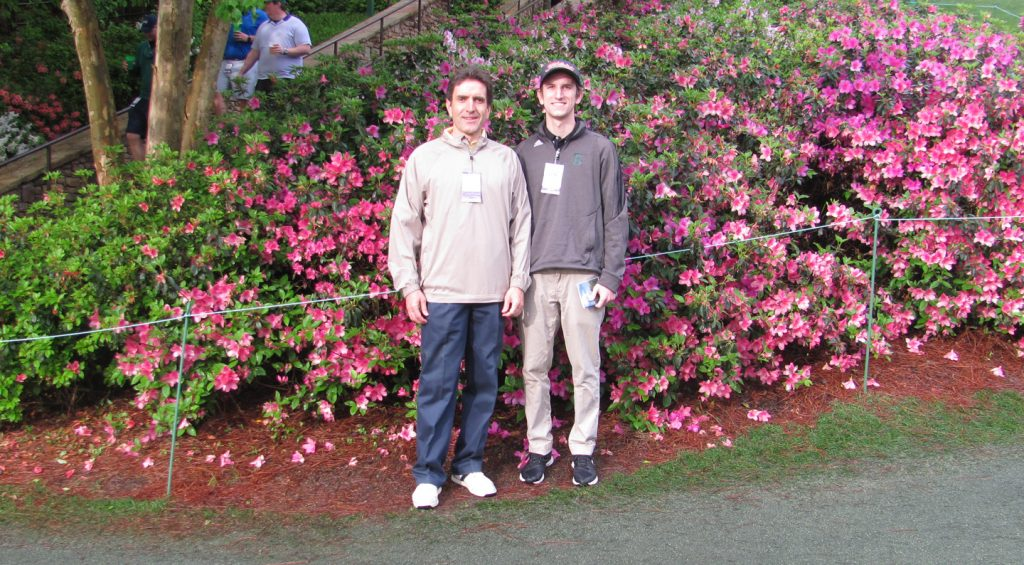 The azaleas at The Masters