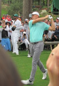 Jordan Speith at The Masters