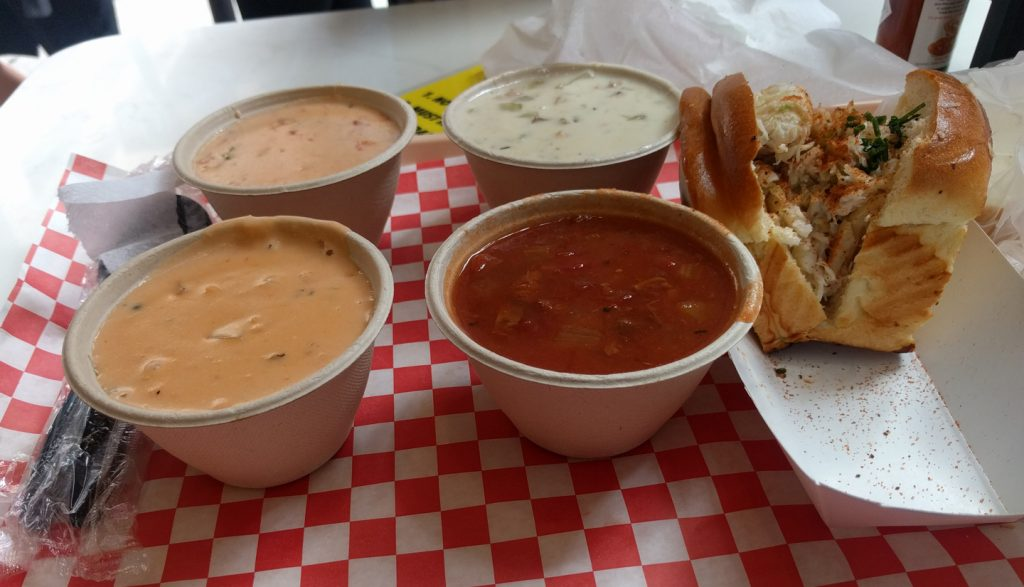 Pike Place Chowder sampler