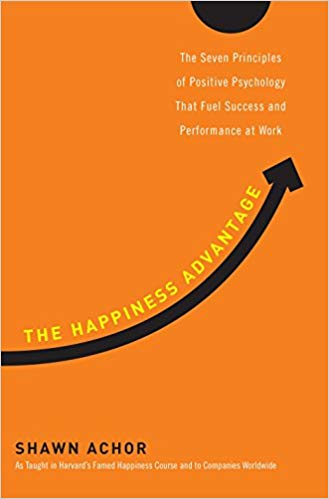Book cover for The Happiness Advantage by Shawn Achor