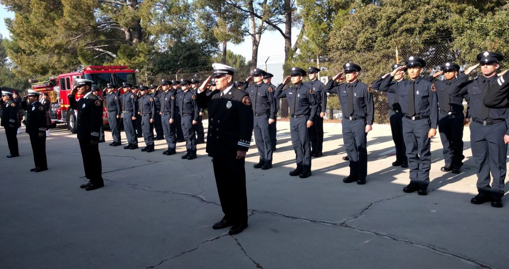 The 152nd Recruit Class of The County of Los Angeles Fire Departement