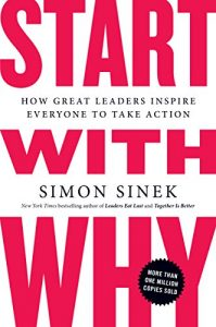 Start With Why by Simon Sinek book cover