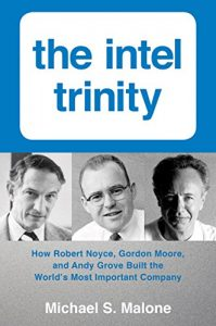The Intel Trinity by Michael S. Malone book cover