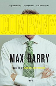 Book cover - Company by Max Barry