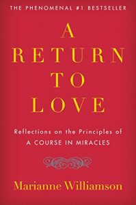 Book cover for A Return to Love by Marianne Williamson