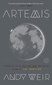 Book cover - Artemis by Andy Weir