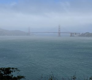 Golden Gate view from Land's End