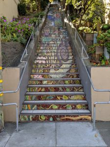 Hidden Garden Steps in San Francisco