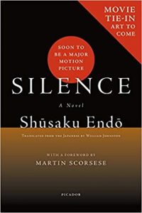 Book cover for Silence by Shusaku Endo