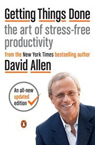 Book cover for Getting Things Done by David Allen