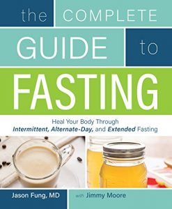 Book cover for The Complete Guide to Fasting by Dr. Jason Fung