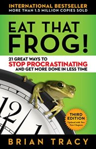 Book cover for Eat That Frog! by Brian Tracy