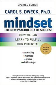Book cover for Mindset by Carol Dweck