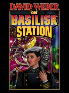 Book cover for On Basilisk Station by David Weber