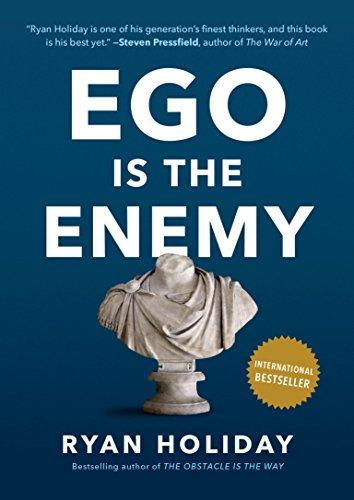 Book cover for Ego Is the Enemy by Ryan Holiday