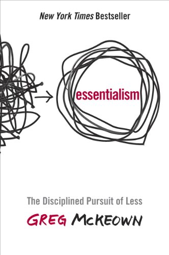 Book cover for Essentialism by Greg McKeown