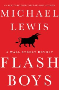 Book cover for Flash Boys: A Wall Street Revolt by Michael Lewis