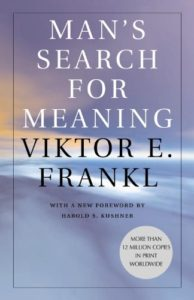 Book cover for Man's Search for Meaning by Viktor E. Frnakl
