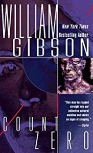 Book cover for Count Zero by William Gibson