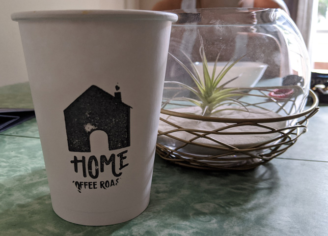 Home Coffee Roaster cup
