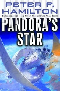 Book cover for Pandora's Star by Peter Hamilton