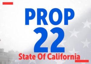 California 2020 ballot proposition 22