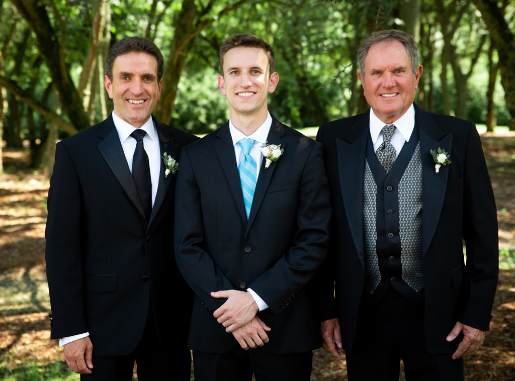 At Brad's wedding - July 2019