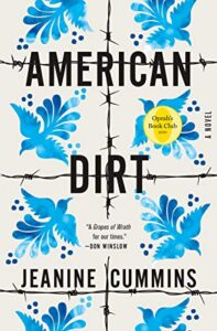 Book cover for American Dirt by Jeanine Cummins