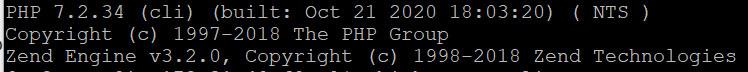 PHP 7.2 version summary