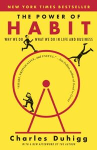 Book cover for The Power of Habit by Charles Duhigg
