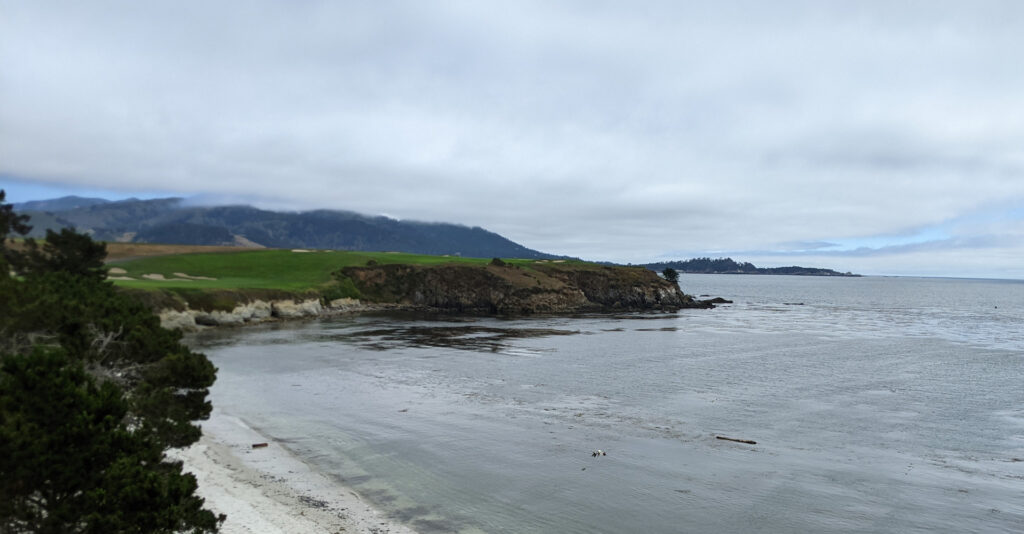 View from the 5th tee at Pebble Beach Golf Links