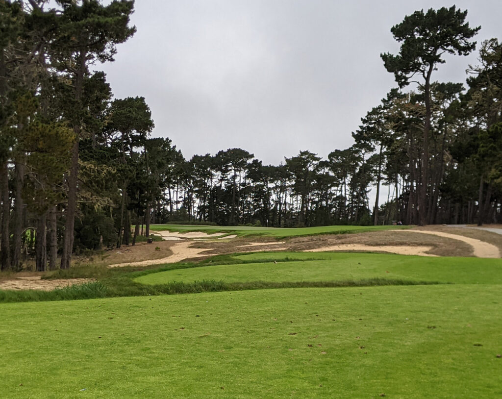 From the 15th tee at Poppy Hills