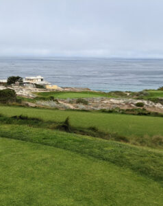 The view from the 3rd tee at Spyglass Hill