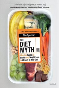 Book cover for The Diet Myth by Tim Spector